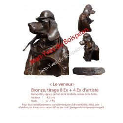 Le Veneur (bronze)