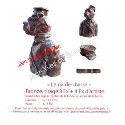 Le Garde-Chasse (bronze)
