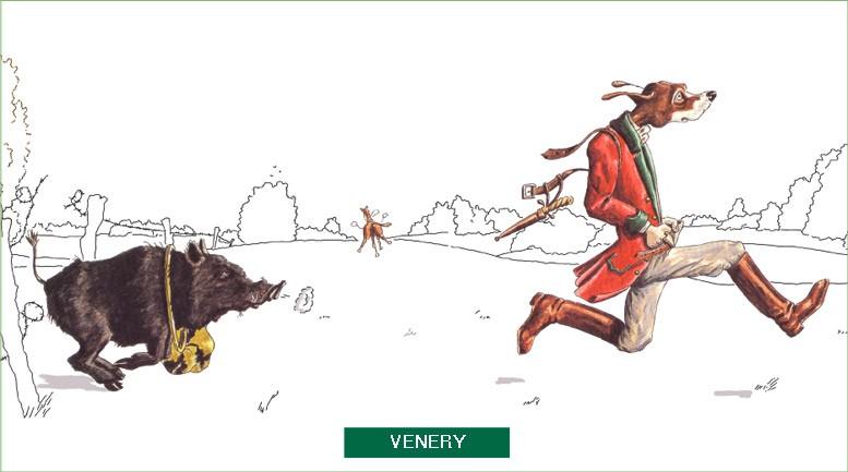 Venery - Jean Yves du Boispean